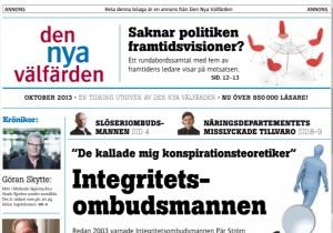 DNV:s tidning för 2013 ligger som bilaga i DN idag