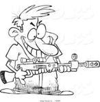 Hur lämpligt är det att en person dömd för anstiftan till vapenbrott sitter på ett register?